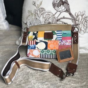 COACH crossbody patchwork purse